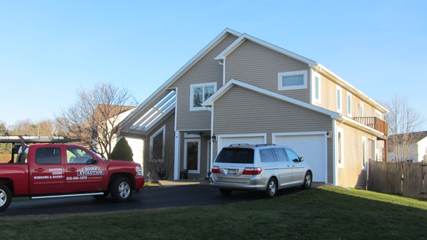 D5 Niskayuna Ny Site Vinyl Siding Before After Home