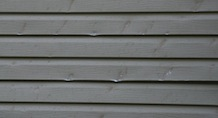 dented siding
