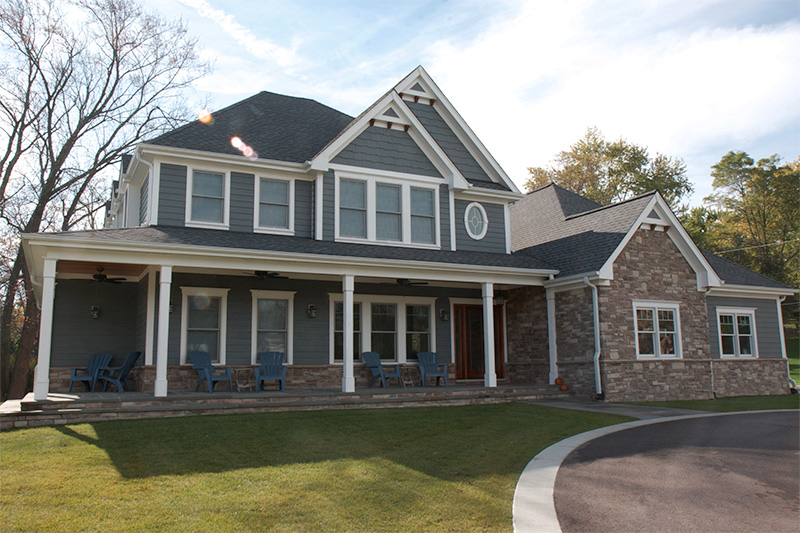 Siding Options Include Stone Siding And Trim Home Evolution