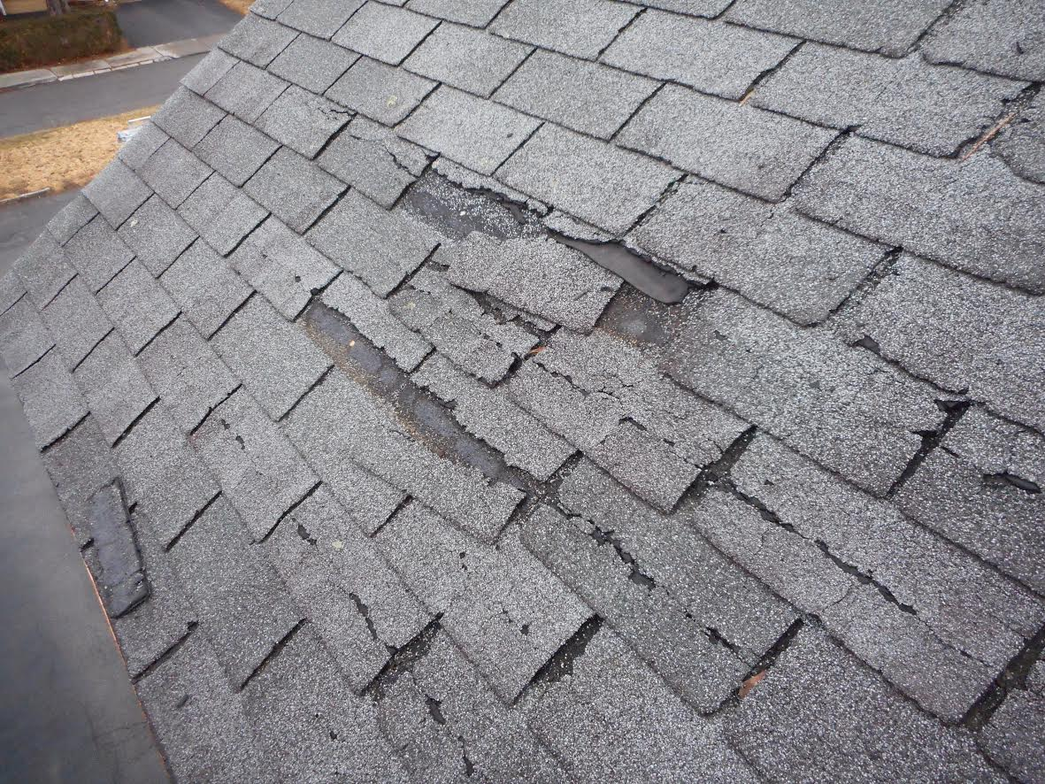 loose roof shingles