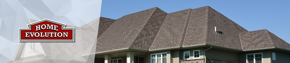 new brown shingled roof