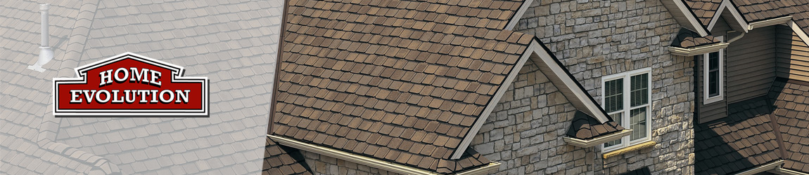 designer brown roof shingles