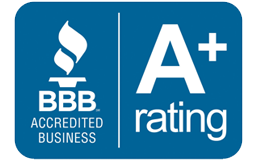 A+ Better Business Bureau Rating Logo