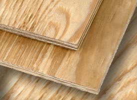 Roof Components - CDX Real Plywood