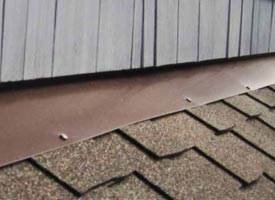 Roof Components - Wall Flashing