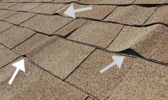 wavy roof shingles