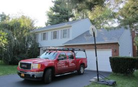 Installing New Roof with Owens Corning Shingles - Nassau, NY